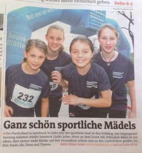 Pressebericht Bezirksblätter 2015