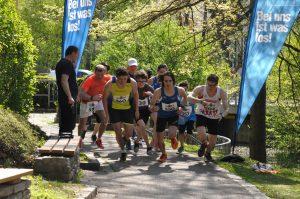 Vertikalsprint, Peerhoflauf, Start